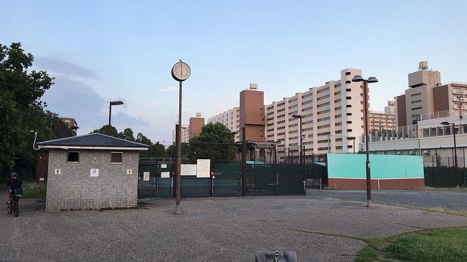 南郊公園テニスコート 港〈みなと〉(愛知県名古屋市港区)