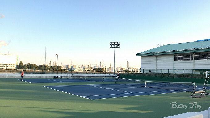 四日市テニスセンター テニスのBonJin