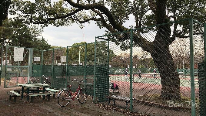 千種公園テニスコート(愛知県名古屋市千種区) テニスのBonJin