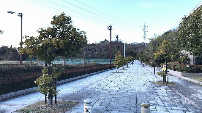 三重県桑名市 NTN総合運動公園テニスコート テニスのBonJin