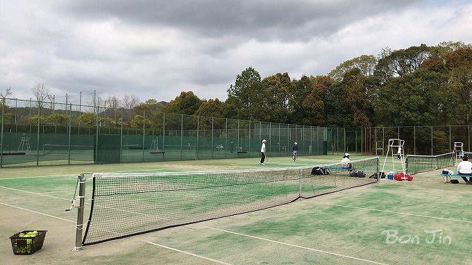 新城総合公園テニスコート テニスのBonJin
