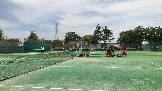 いちい信金スポーツセンター テニスコート テニスのBonJin