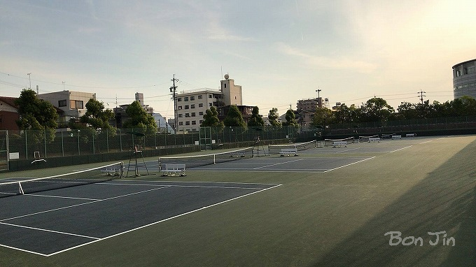 長良川テニスプラザ テニスのBonJin