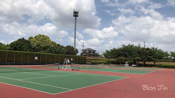 木曽川祖父江緑地テニスコート テニスのBonJin