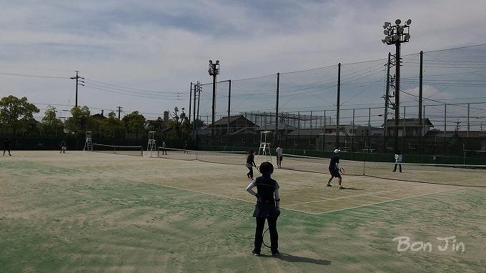 一宮市テニス場 テニスのBonJin