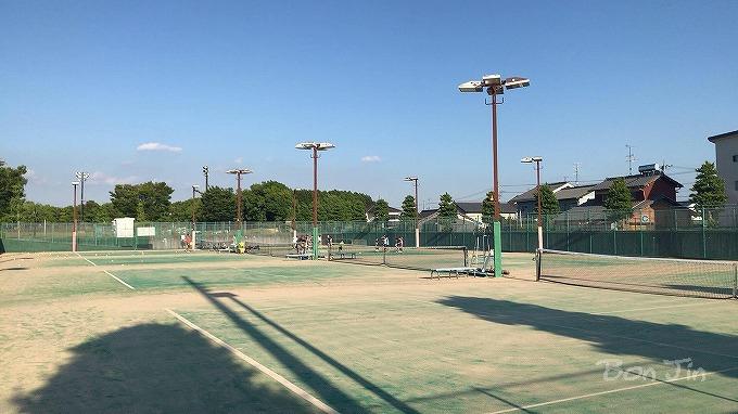 祖父江の森テニスコート テニスのBonJin