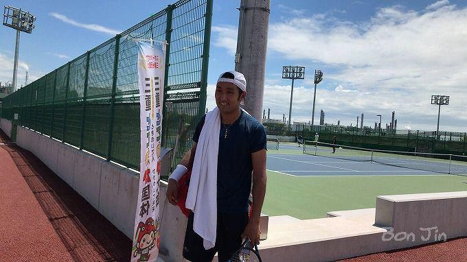 2019四日市チャレンジャー テニスのBonJin