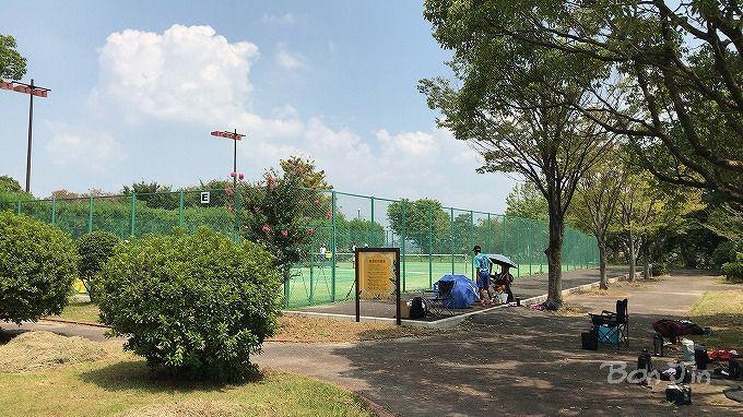 文化広場テニスコート テニスのBonJin