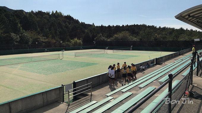 中津川公園テニスコート テニスのBonJin