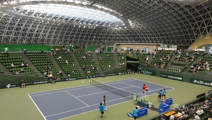 ブルボンビーンズドーム テニスのBonJin