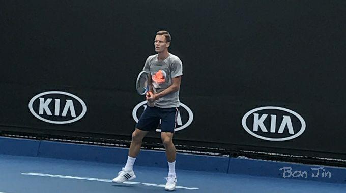 T.ベルディヒ テニスのBonJin