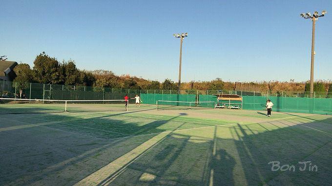 武豊町運動公園テニスコート テニスのBonJin