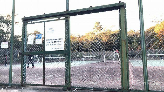 愛知県森林公園テニスコート テニスのBonJin