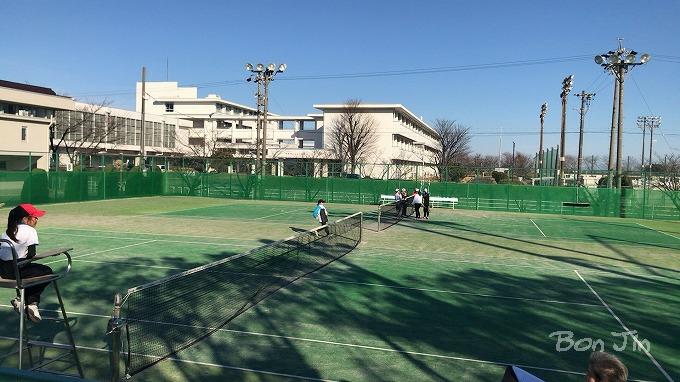 海津テニスコート テニスのBonJin
