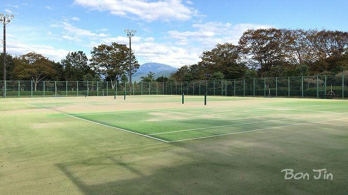 まきがね公園テニスコート テニスのBonJin