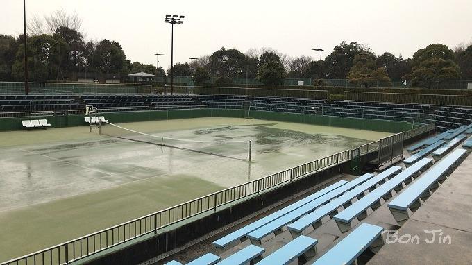 岡崎中央総合公園テニスコート テニスのBonJin