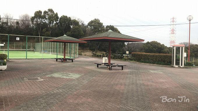 七曲公園テニスコート テニスのBonJin