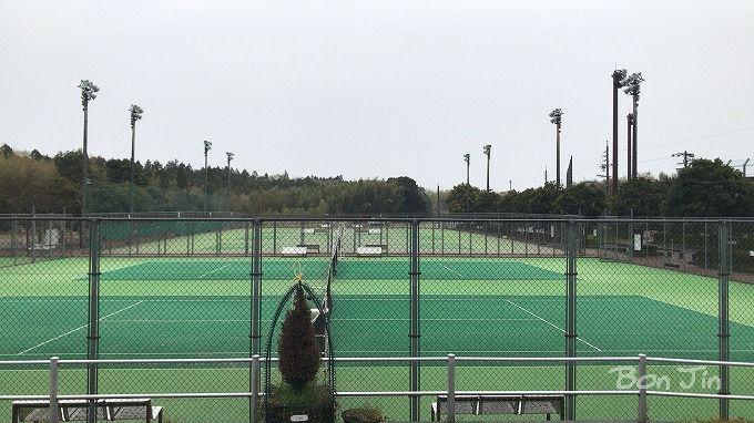 北勢中央公園テニスコート テニスのBonJin