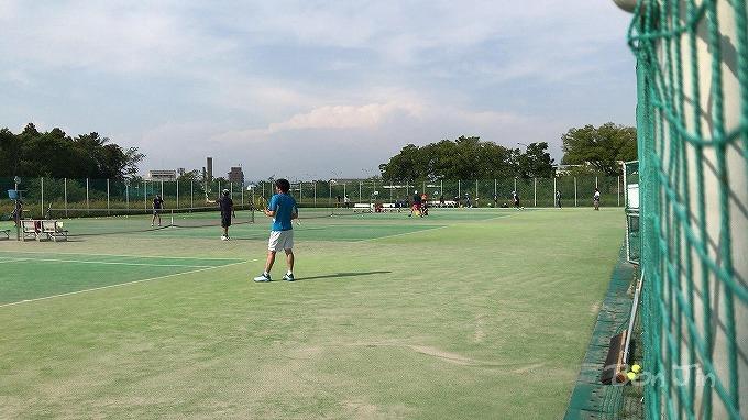 境川緑道公園テニスコート テニスのBonJin