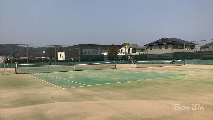 上野運動公園テニスコート テニスのBonJin