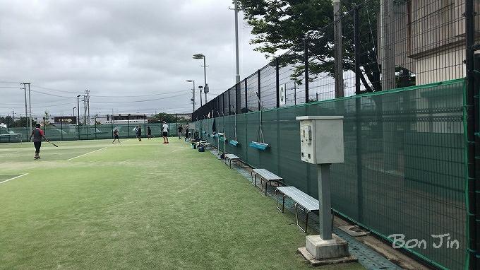 三好公園テニスコート テニスのBonJin