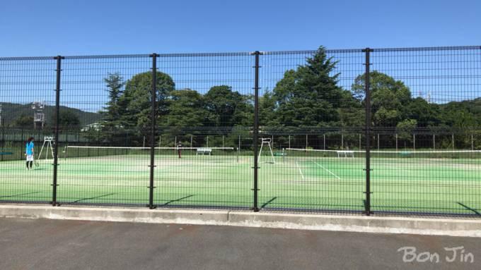 鳥羽中央公園テニスコート テニスのBonJin