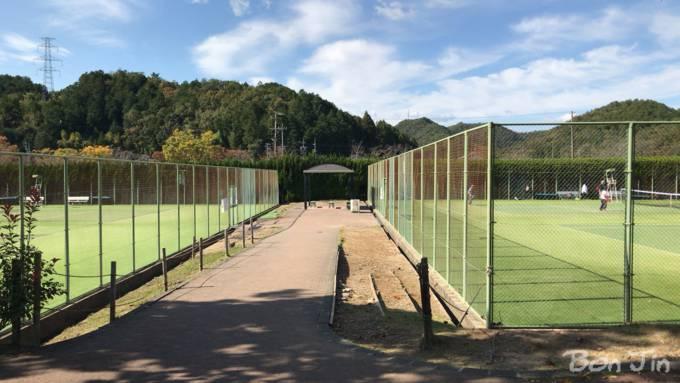 岐阜ファミリーパーク テニスのBonJin