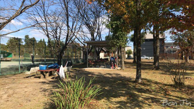 桜運動施設テニスコート テニスのBonJin