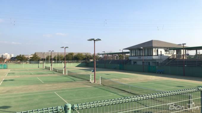 高岡スポーツコアテニスコート テニスのBonJin