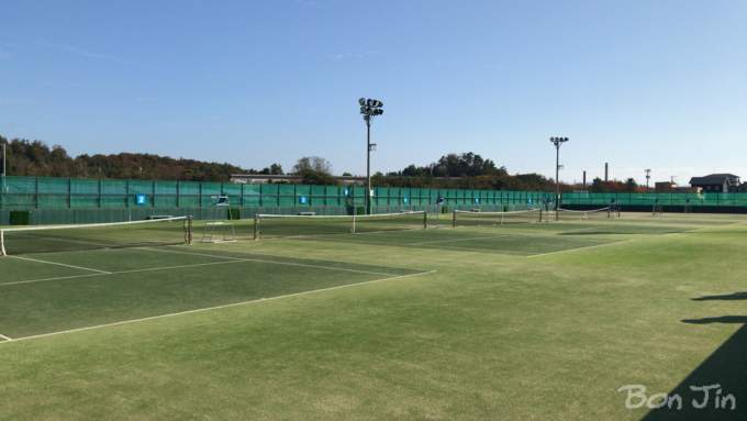 和倉温泉運動公園テニスコート テニスのBonJin