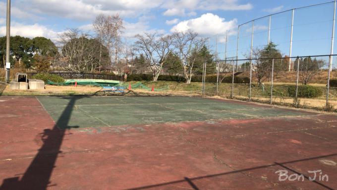 名張市民テニスコート テニスのBonJin