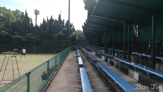 碧南市臨海公園 テニスのBonJin