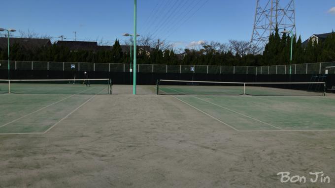 狩野公園テニスコート テニスのBonJin