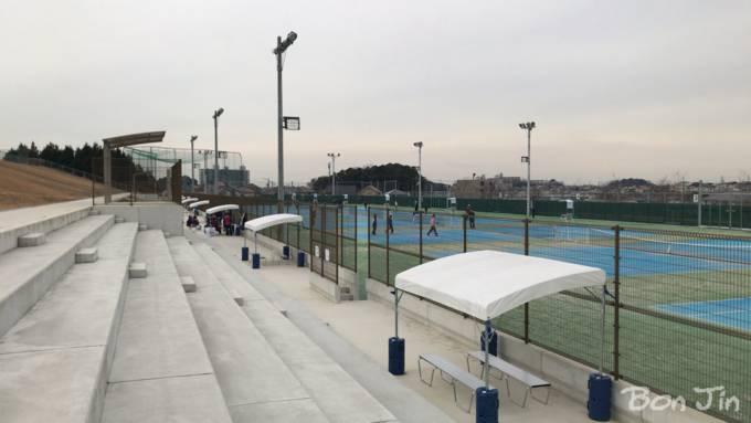 岡崎市龍北総合運動場テニスコート テニスのBonJin