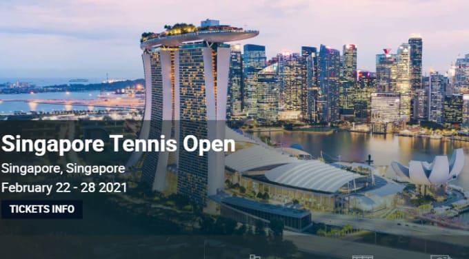2021シンガポール・テニスオープン テニスのBonJin