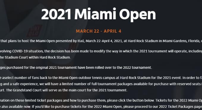 2021マイアミオープン テニスのBonJin
