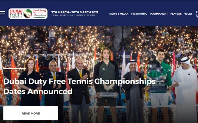 2021ドバイデューティーフリーテニス選手権 テニスのBonJin