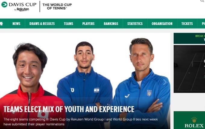2021デビスカップ・ワールドグループ1 パキスタン戦 テニスのBonJin