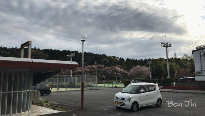 大安スポーツ公園テニスコート テニスのBonJin