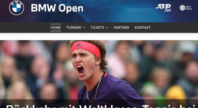 2021BMWオープン テニスのBonJin
